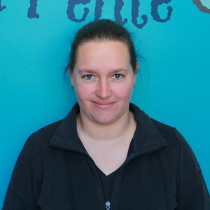 Christine Boivin, éducatrice titulaire du groupe des Ouistitis (3-4 ans)