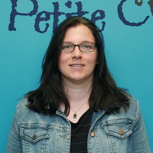 Mélissa Parent, éducatrice titulaire du groupe des Grenouilles (2-3 ans)