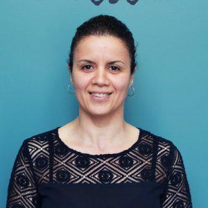 Naïma Amrane, éducatrice responsable des fins de journées