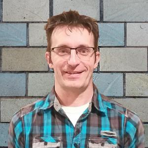 Patrick Bédard, éducateur titulaire du groupe des Elfes (18 mois - 5 ans)